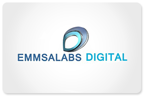 The Smaller Light Blue And A Slightly Dark Blue Alphabet D Encircled Into One Tells Us Emmsalabs Digital Creates Eye-Catching And Stunning Designs For Websites.